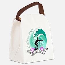 i Love salt Canvas Lunch Bag