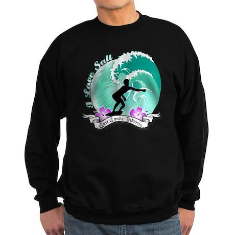 i Love salt Sweatshirt (dark)