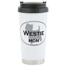 Cute Westie mom Travel Mug