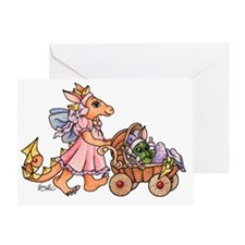 Dragon Buggy Greeting Card