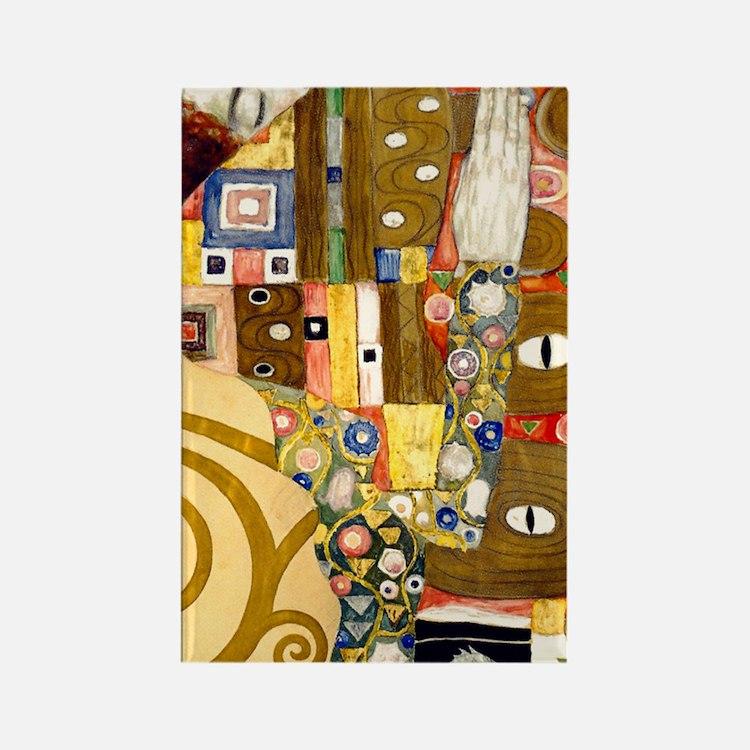 441 Klimt Ful Rectangle Magnet