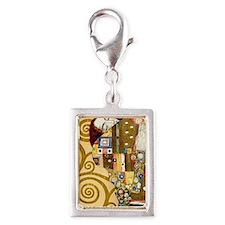 443 Klimt Ful Silver Portrait Charm