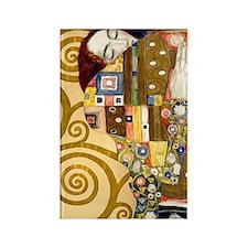 443 Klimt Ful Rectangle Magnet