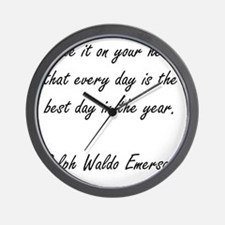 every day Wall Clock