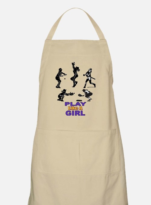 PLAY LIKE A GIRL Apron