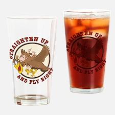 Straighten Up-tail Drinking Glass