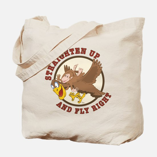 Straighten Up-tail Tote Bag