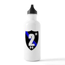 2asteriskplain Water Bottle