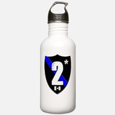 2asteriskplain Water Bottle