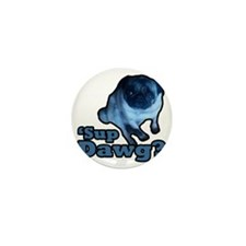 WhatsUpDog Mini Button