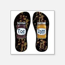 "Toe Jam Square Sticker 3"" x 3"""