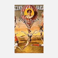 Circus Poster Decal