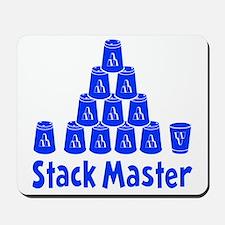 blue2, Stack Master 1, ck retro shadowed Mousepad