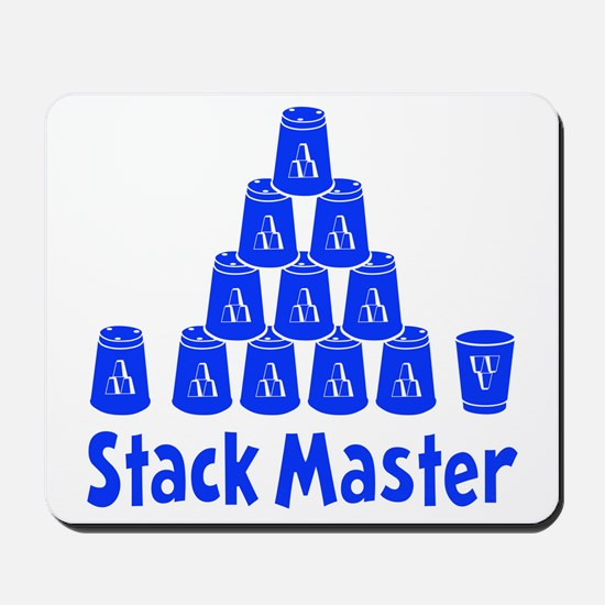 blue2, Stack Master 1, ck retro shadowed Mousepad