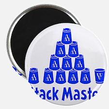 blue2, Stack Master 1, ck retro shadowed Magnet
