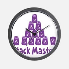 purple2, Stack Master 1, ck retro shado Wall Clock