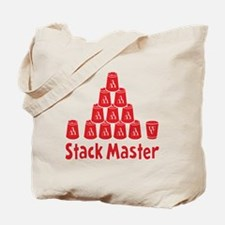 red2, Stack Master 1, ck retro shadowed Tote Bag