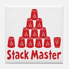 red2, Stack Master 1, ck retro shadow Tile Coaster