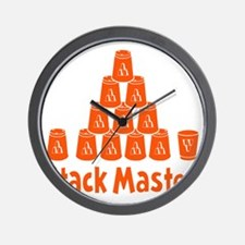 orange2, Stack Master 1, ck retro shado Wall Clock