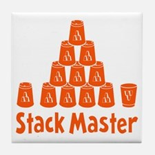 orange2, Stack Master 1, ck retro sha Tile Coaster