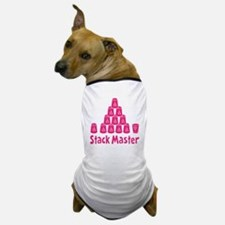 pink2, Stack Master 1, ck retro shadow Dog T-Shirt