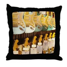 GUITAR HEAVEN Throw Pillow