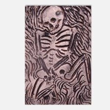 SKELETON Postcards (Package of 8)