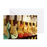 Guitars Greeting Cards