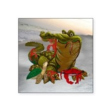 "Bayou Buddies Square Sticker 3"" x 3"""
