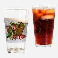 Bayou Buddies Drinking Glass