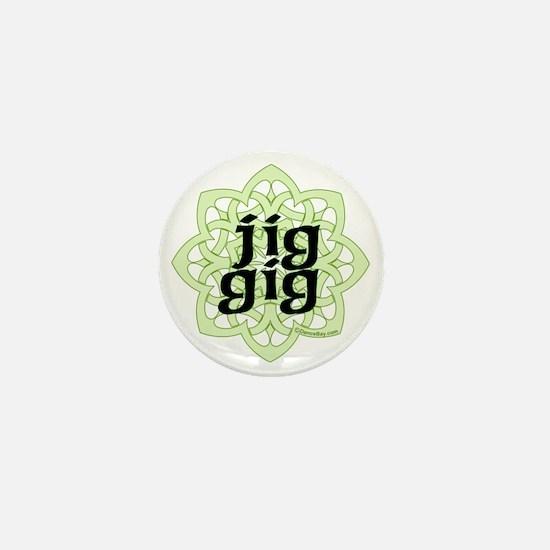 jig gig for irish dance by dancebay be Mini Button