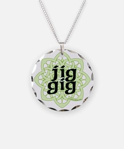 jig gig for irish dance by d Necklace