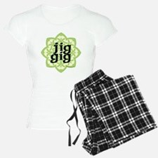 jig gig dark for irish danc Pajamas