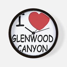 GLENWOOD_CANYON Wall Clock