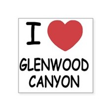 "GLENWOOD_CANYON Square Sticker 3"" x 3"""