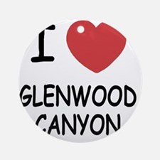GLENWOOD_CANYON Round Ornament