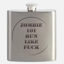 Zombie 101 Flask