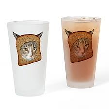 Cat Breading 02 copy Drinking Glass