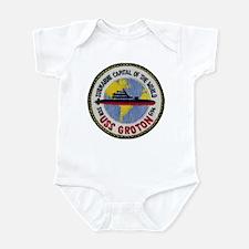 USS GROTON Infant Bodysuit