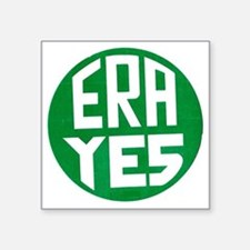 "ART ERA YES Square Sticker 3"" x 3"""