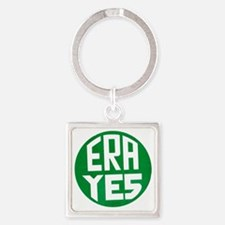 ART ERA YES Square Keychain