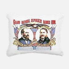 ART Garfield 1880 Rectangular Canvas Pillow