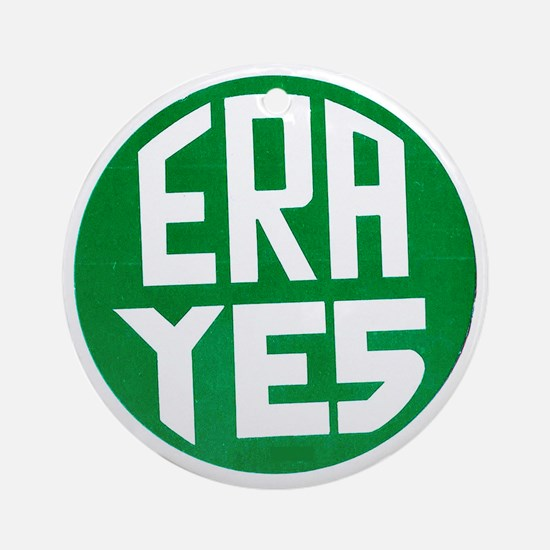 ART ERA YES Round Ornament