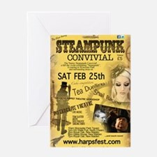 1sy Surrey Steampunk Convivial Greeting Card