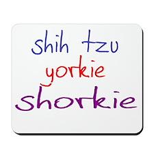 shorkie_black Mousepad