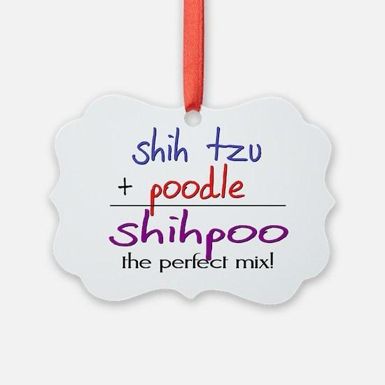 shihpoo Ornament