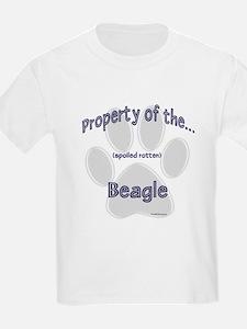Beagle Property Kids T-Shirt
