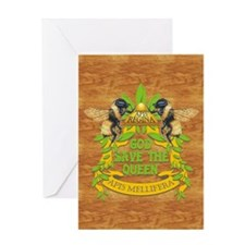 queen wood journal Greeting Card