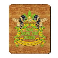 queen wood journal Mousepad