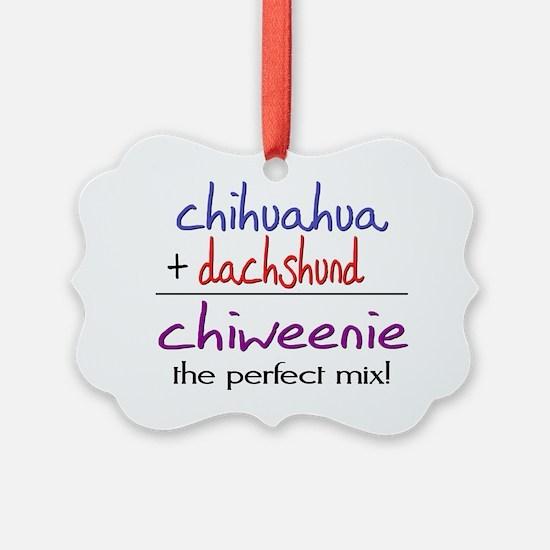 chiweenie Ornament